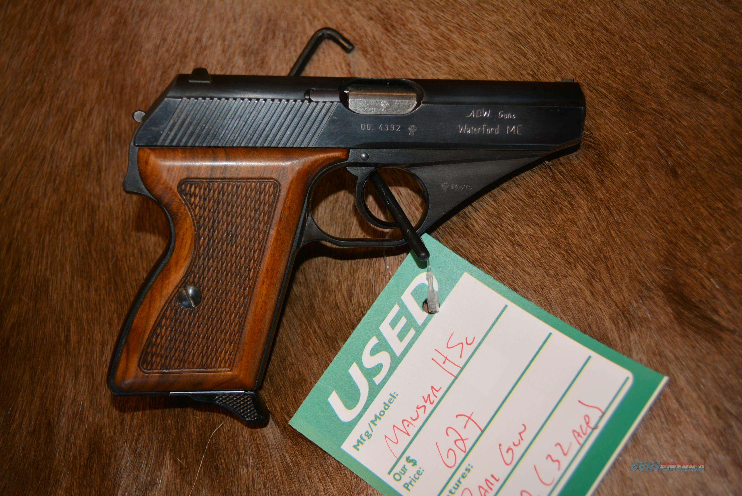 Mauser HSc 7.65 (32ACP) W/German Proof Marks  Guns > Pistols > Mauser Pistols