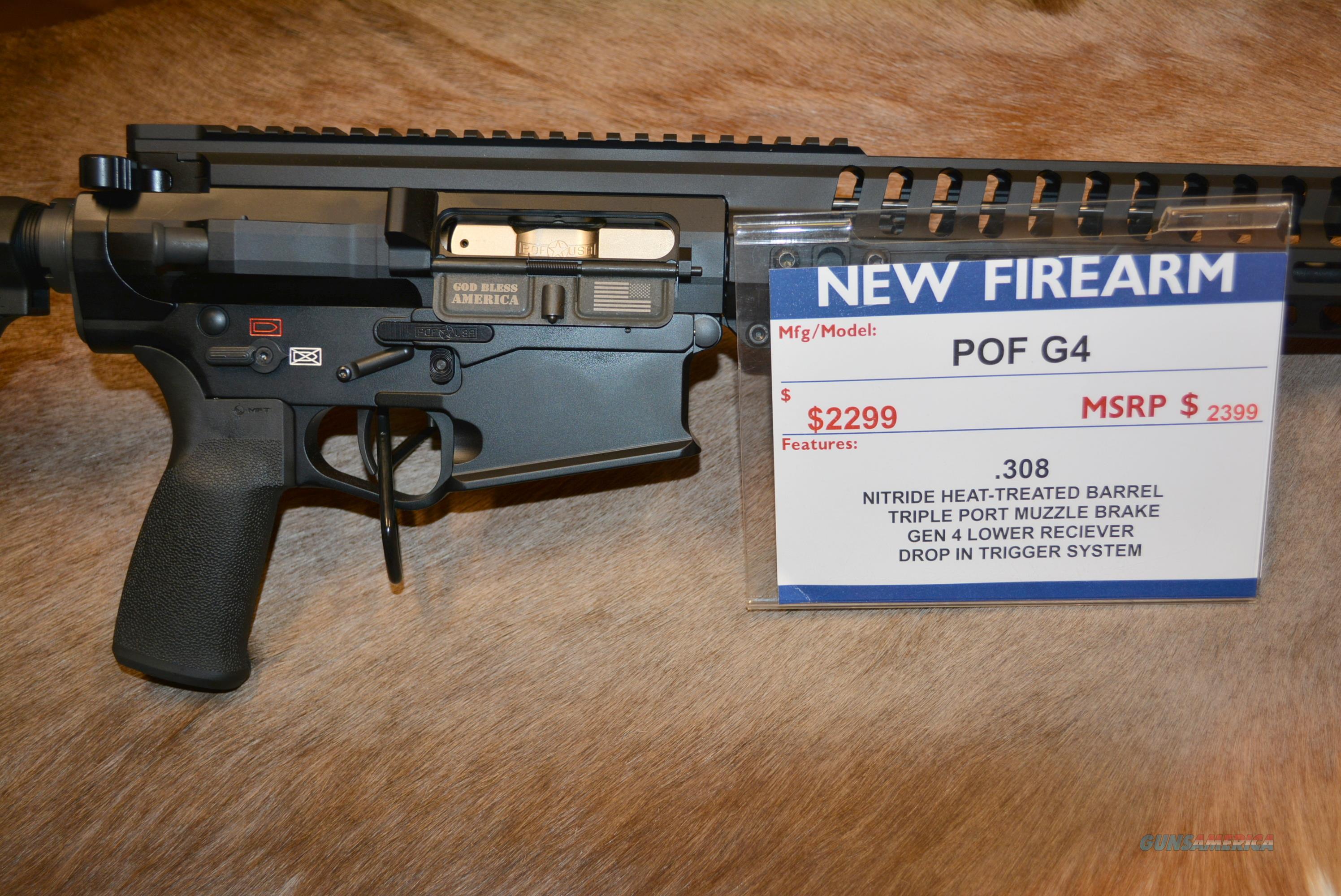 Patriot Ordnance G4 308 FREE Shipping!  Guns > Rifles > Patriot Ordnance Factory - POF USA > Complete Rifles