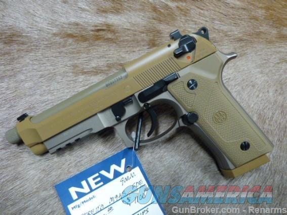 "Beretta M9A3 FDE ""G"" Type NEW  Guns > Pistols > Beretta Pistols > M9"