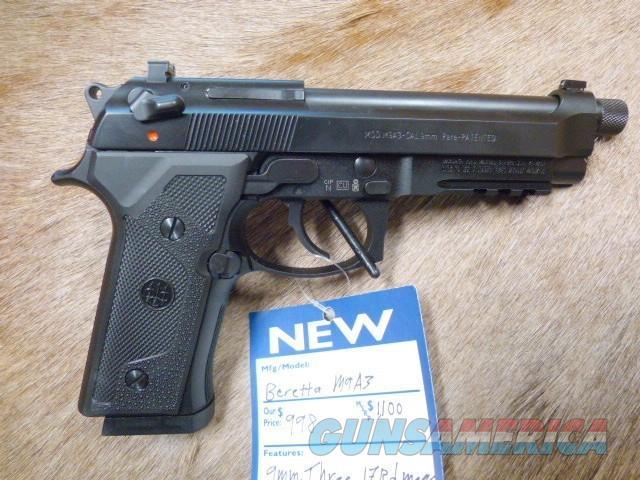 Beretta M9A3 NEW W/3-17 rd mags!  Guns > Pistols > Beretta Pistols > M9