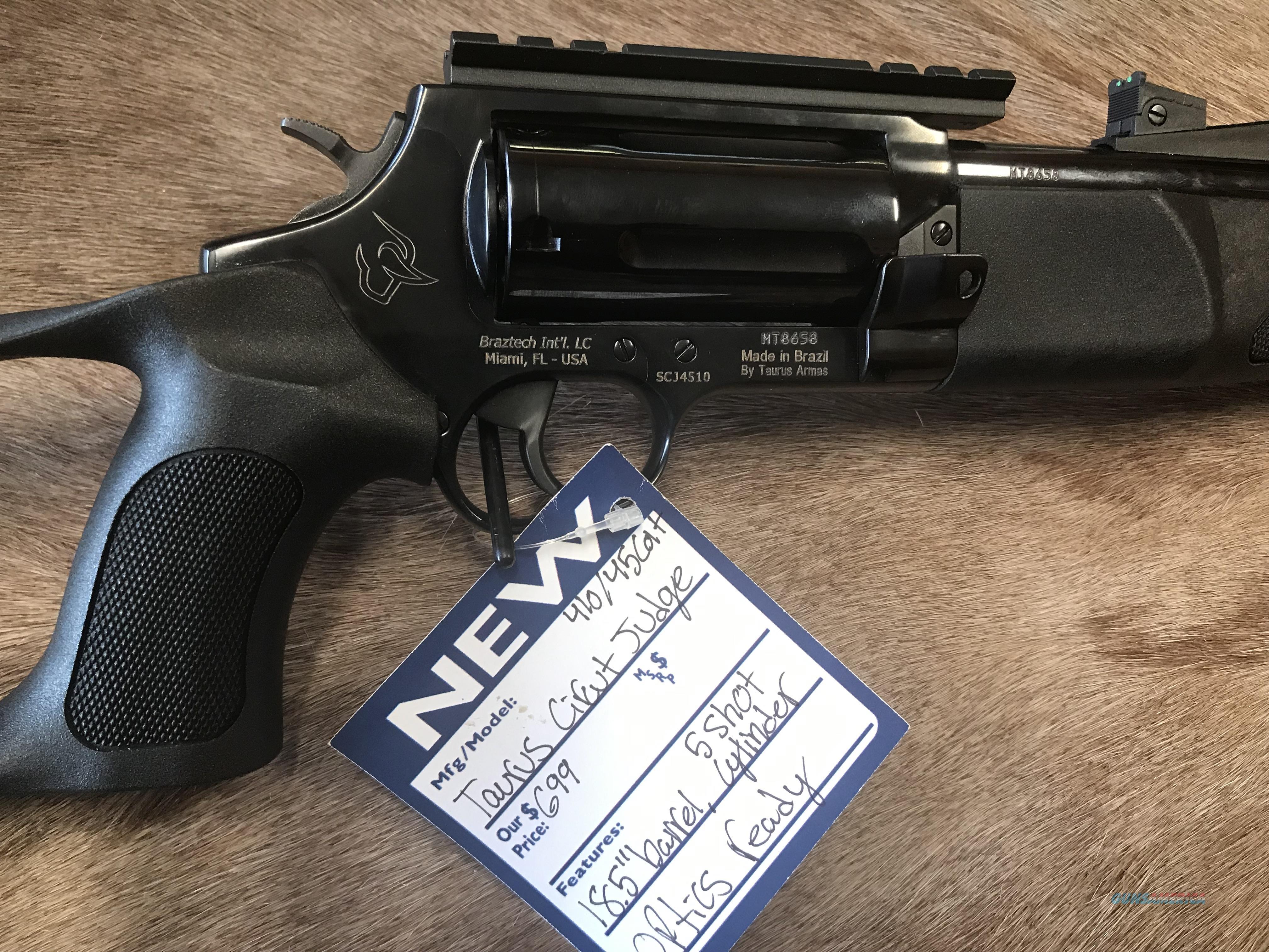 """Taurus Circuit Judge 45/410 W/3"""" Chamber  Guns > Rifles > Taurus Rifles"""