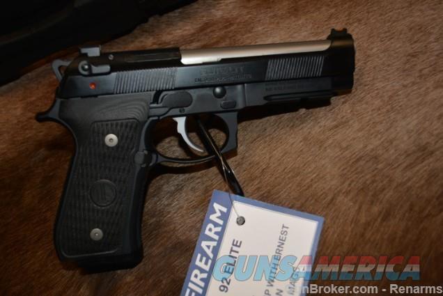 Beretta 92 Elite LTT - Langdon Tactical NEW  Guns > Pistols > Beretta Pistols > Model 92 Series
