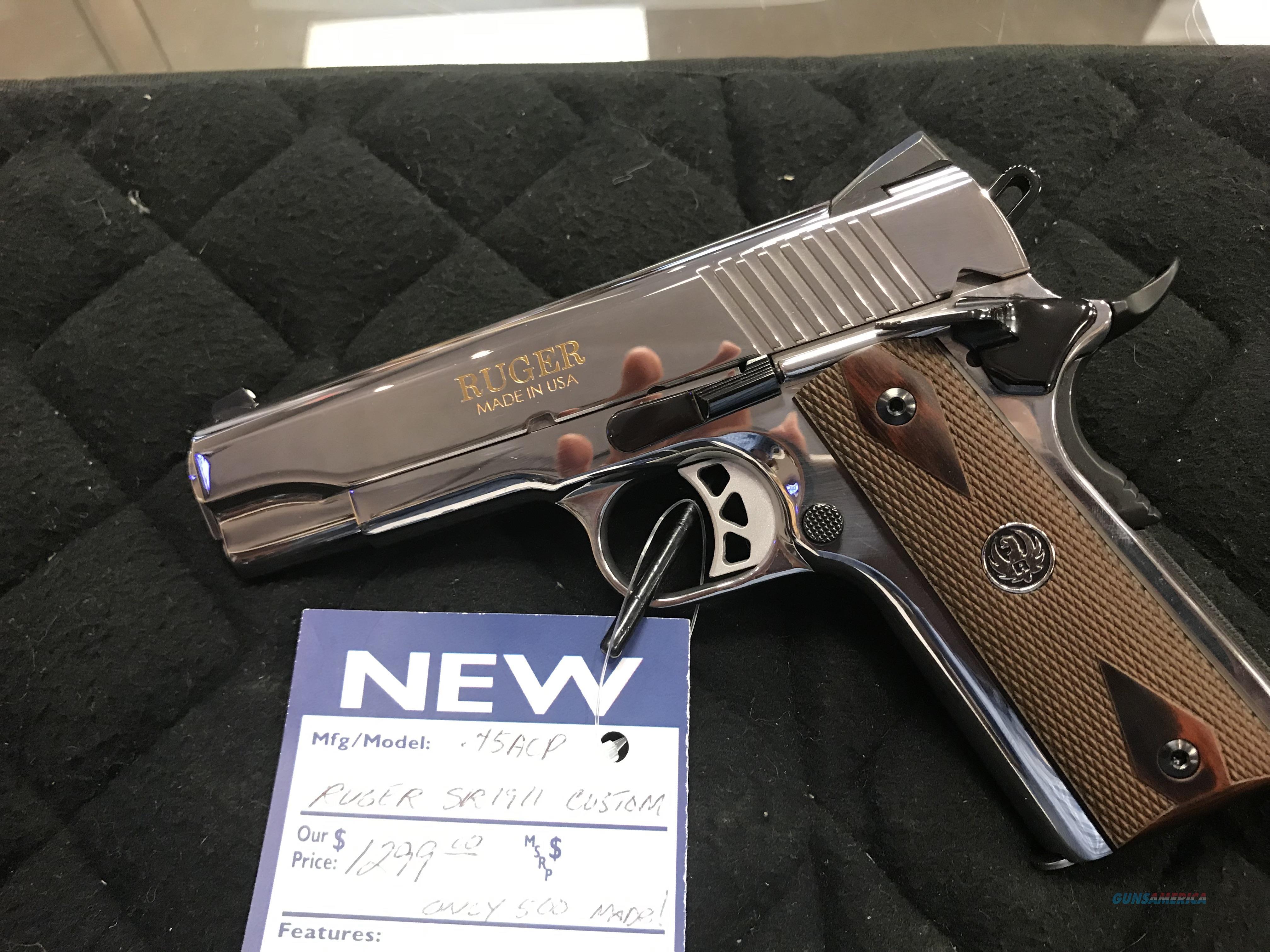 Ruger SR1911 Custom 45  Guns > Pistols > Ruger Semi-Auto Pistols > 1911