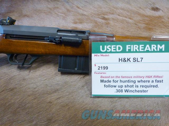 HK SL7 RARE Hunting Rifle  Guns > Rifles > Heckler & Koch Rifles > Sporting/Hunting