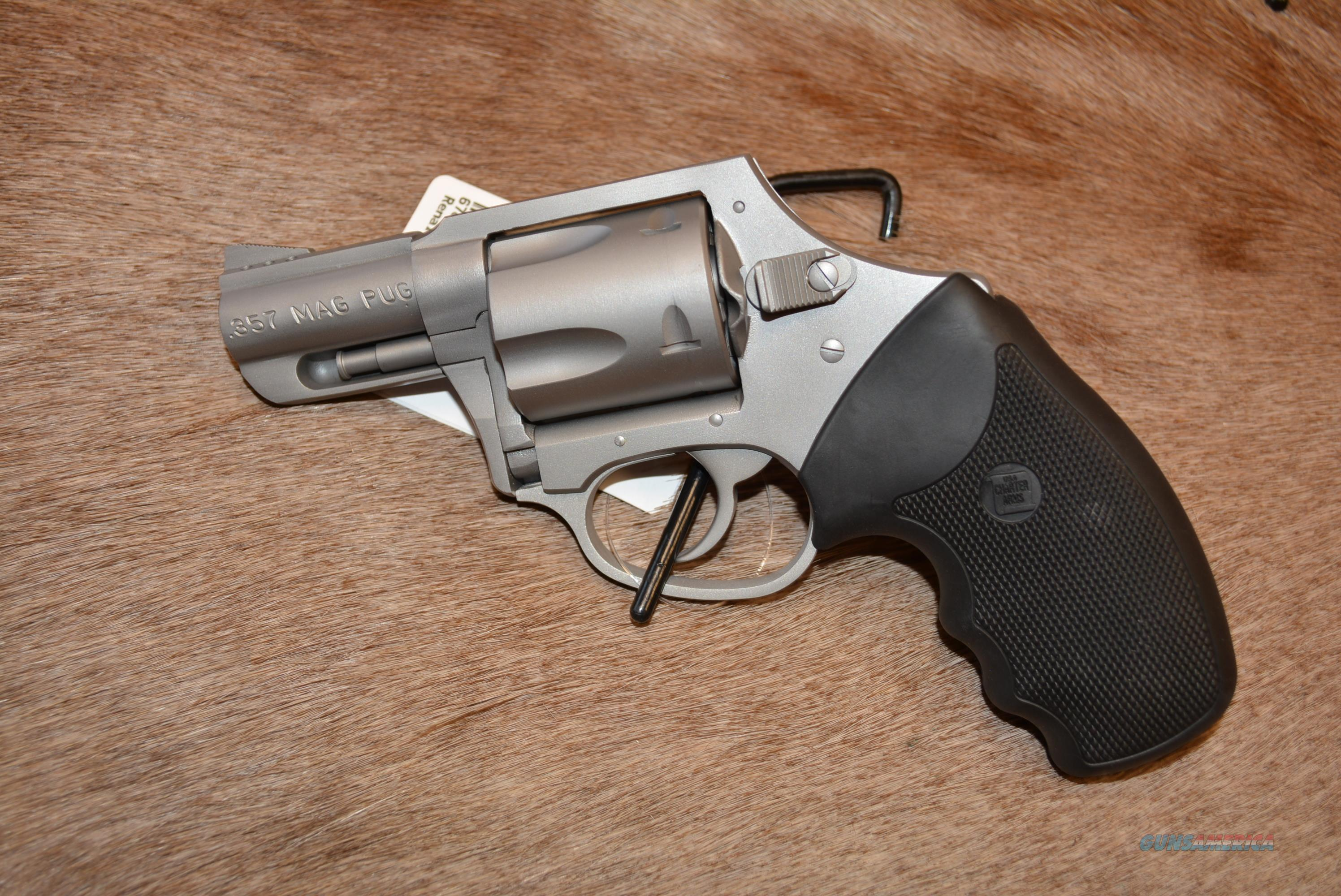Charter Arms PUG 357 Ported SS - DAO - NEW  Guns > Pistols > Charter Arms Revolvers