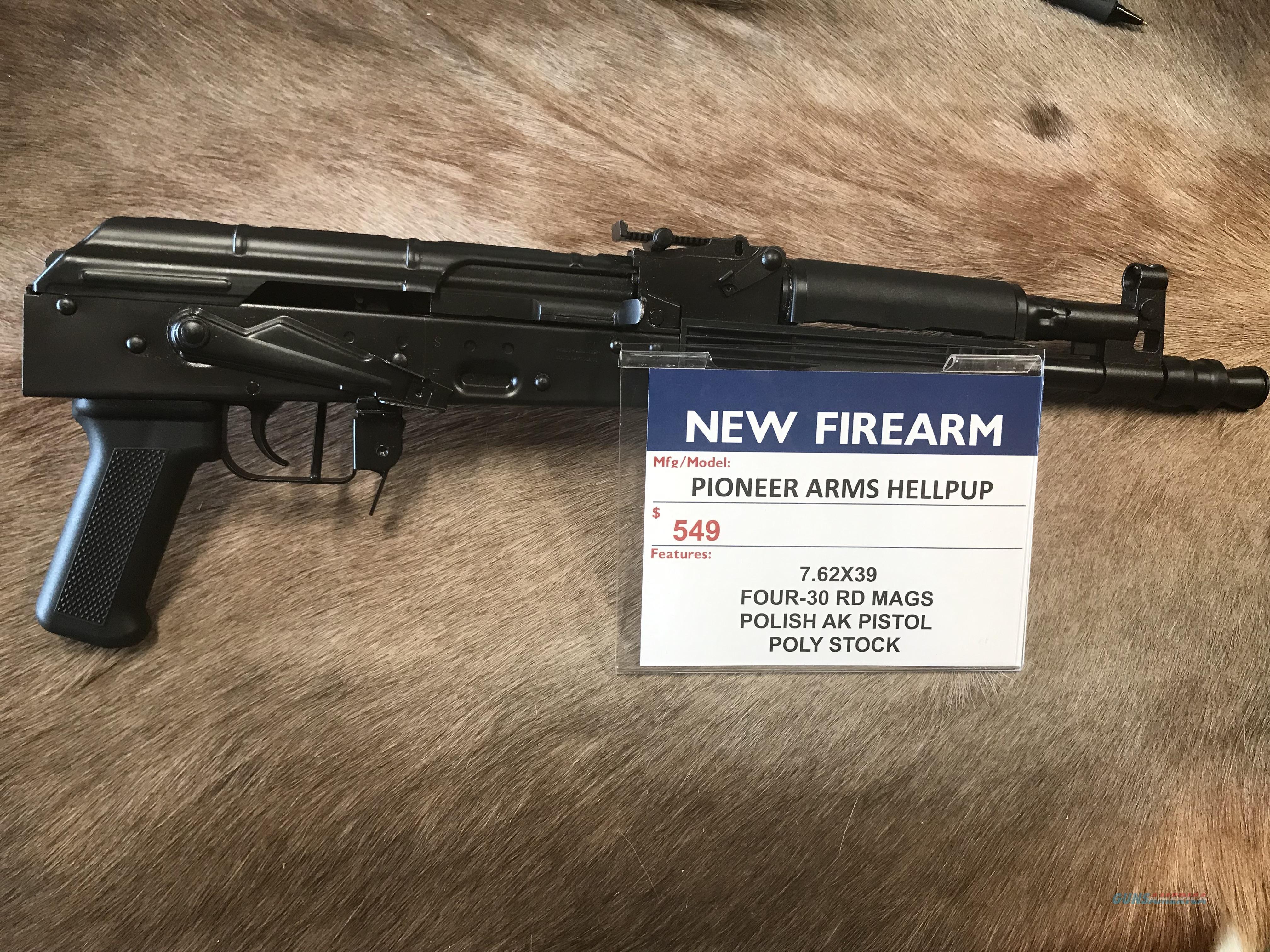 Pioneer Arms Hellpup AK Pistol  Guns > Pistols > PQ Misc Pistols