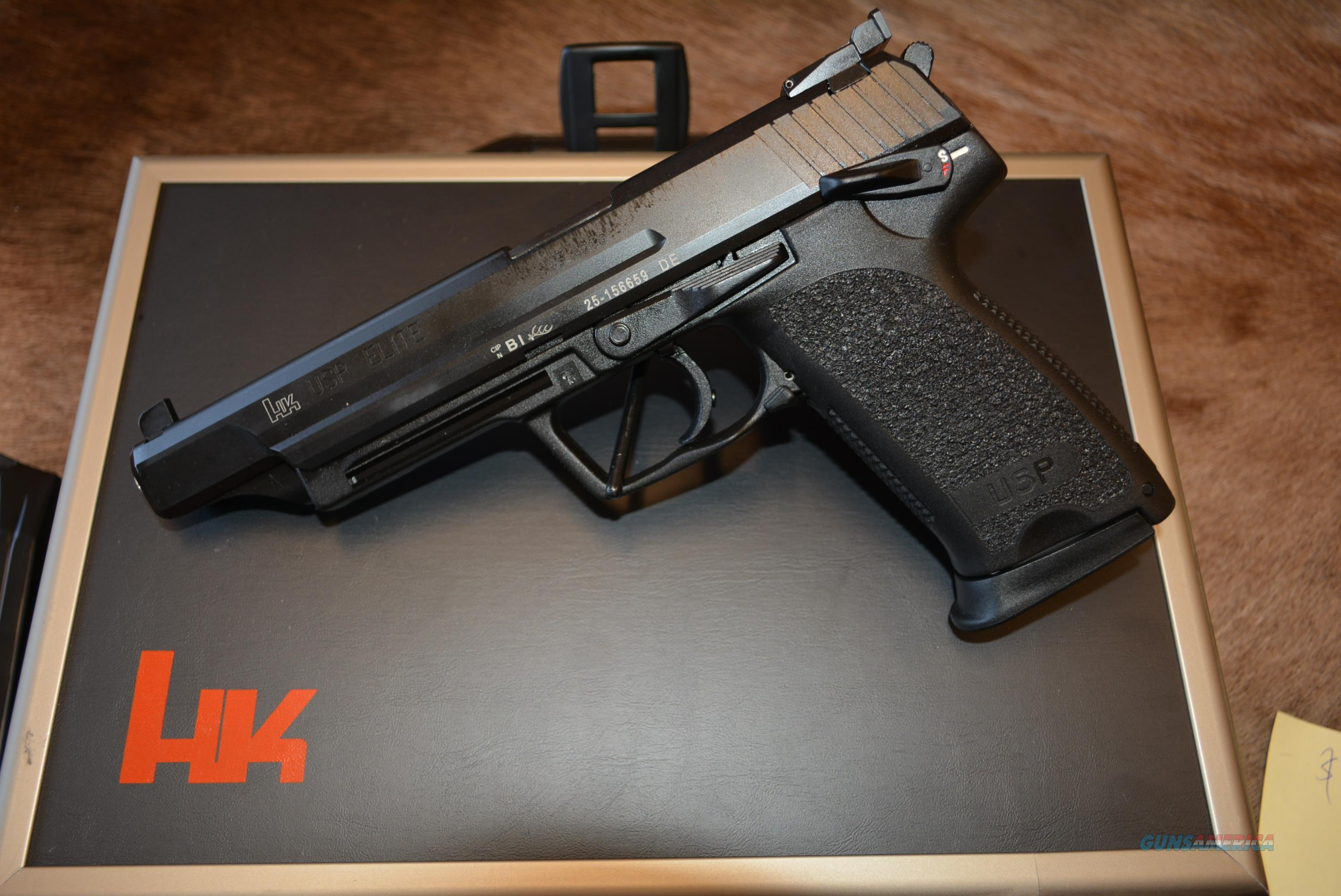 HK USP Elite 45ACP - NON US Cataloged Item!  Guns > Pistols > Heckler & Koch Pistols > Polymer Frame
