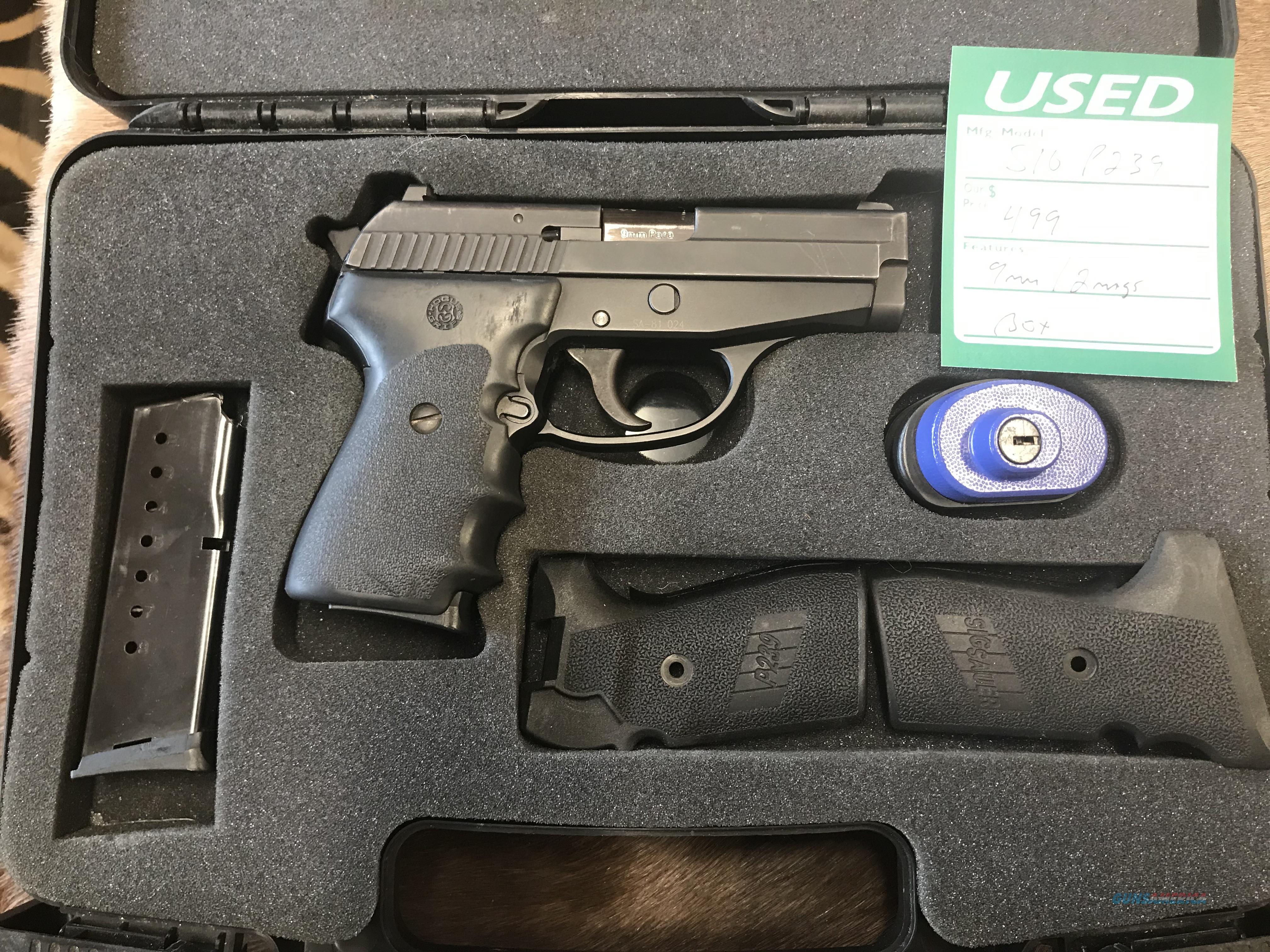 Sig P239 9mm W/Box  Guns > Pistols > Sig - Sauer/Sigarms Pistols > P239
