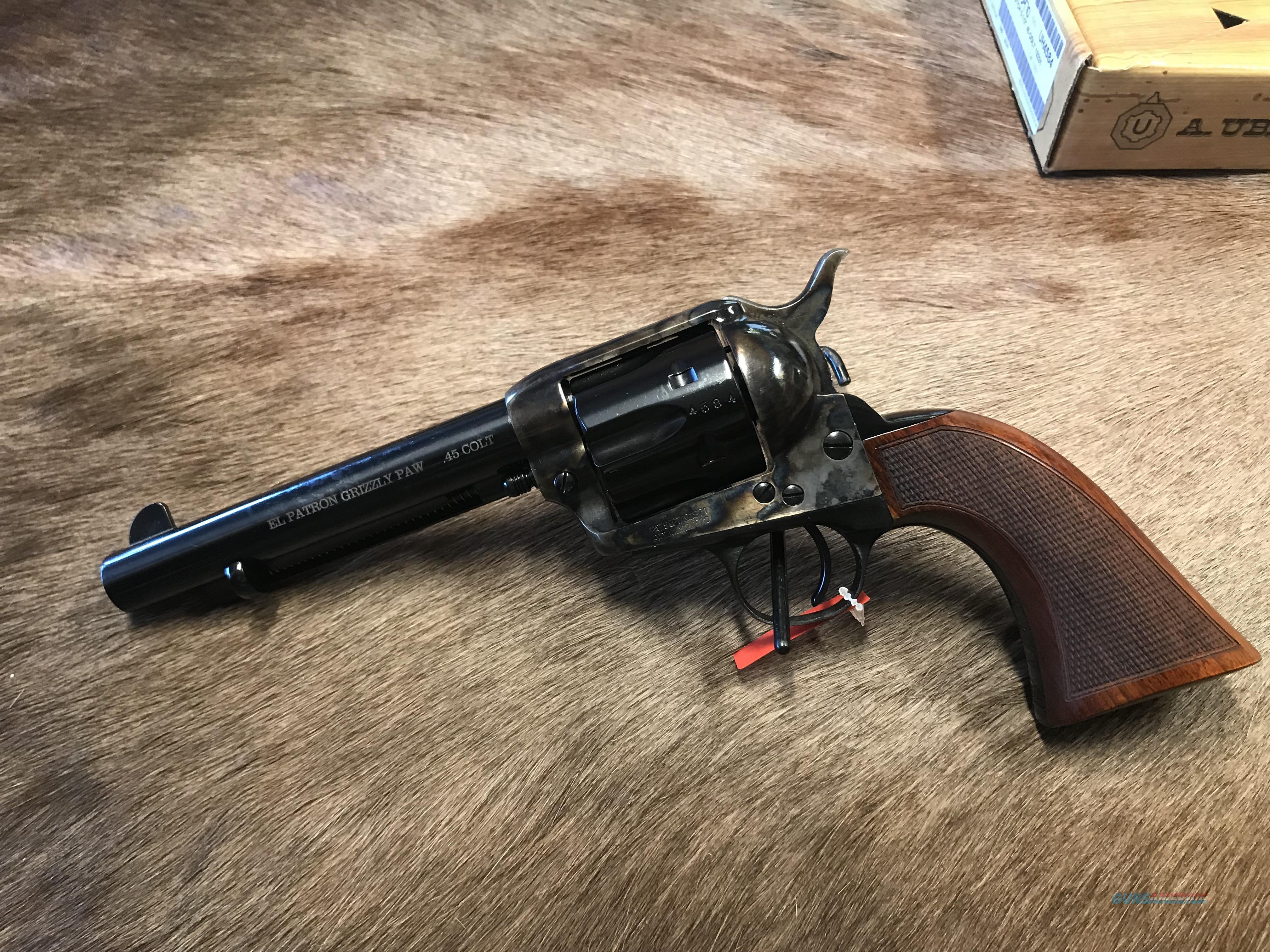 Uberti El Patron Grizzly Paw 45 Colt NEW  Guns > Pistols > Uberti Pistols > Ctg.