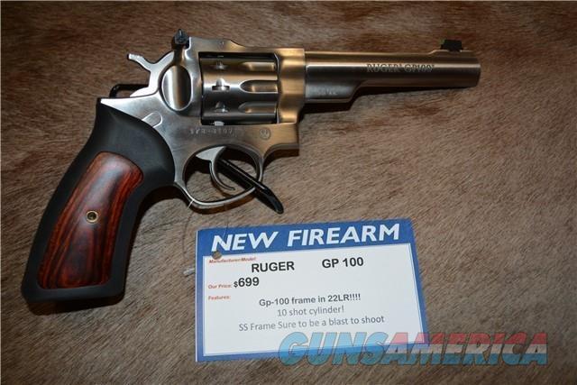 """Ruger GP100 22LR 5.5"""" Barrel NEW  Guns > Pistols > Ruger Double Action Revolver > GP100"""