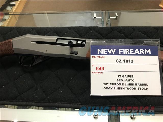 CZ 1012 NEW - GREY Finish  Guns > Shotguns > CZ Shotguns