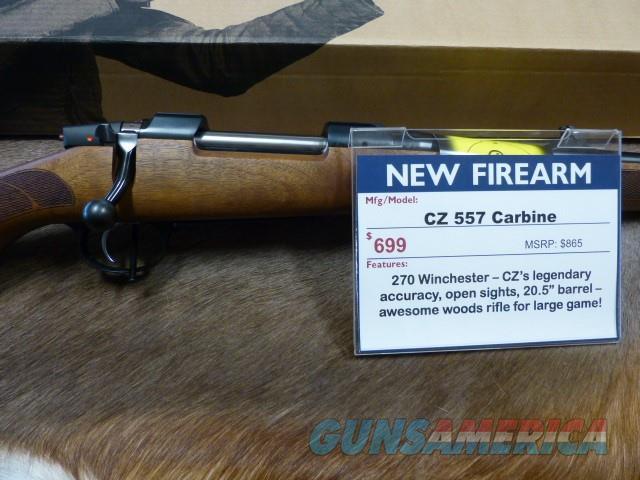 CZ 557 270 New  Guns > Rifles > CZ Rifles
