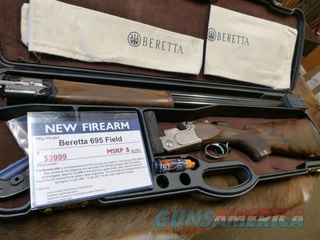 Beretta 695 Field 12/28 NEW  Guns > Shotguns > Beretta Shotguns > O/U > Hunting