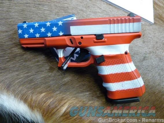 Glock 19 US Flag Finish NEW  Guns > Pistols > Glock Pistols > 19/19X