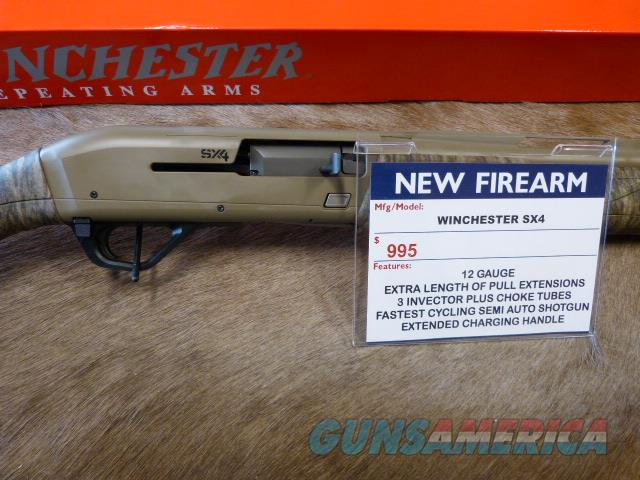 Winchester SX4 - 2018 SHOT SHOW - Camo Gun  Guns > Shotguns > Winchester Shotguns - Modern > Autoloaders > Hunting