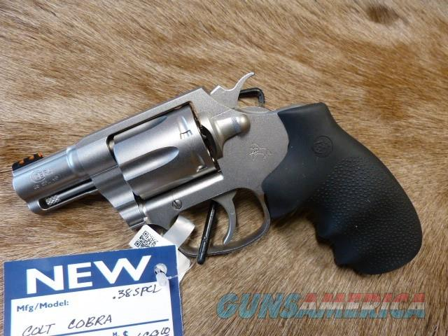 Colt Cobra - NEW  Guns > Pistols > Colt Double Action Revolvers- Modern
