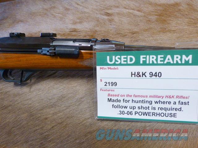 HK 940 .30-06 Hunting Rifle - RARE  Guns > Rifles > Heckler & Koch Rifles > Sporting/Hunting