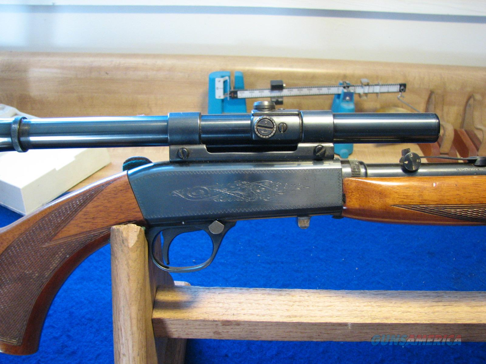 Browning 22 Auto  Guns > Rifles > Browning Rifles > Semi Auto > Hunting