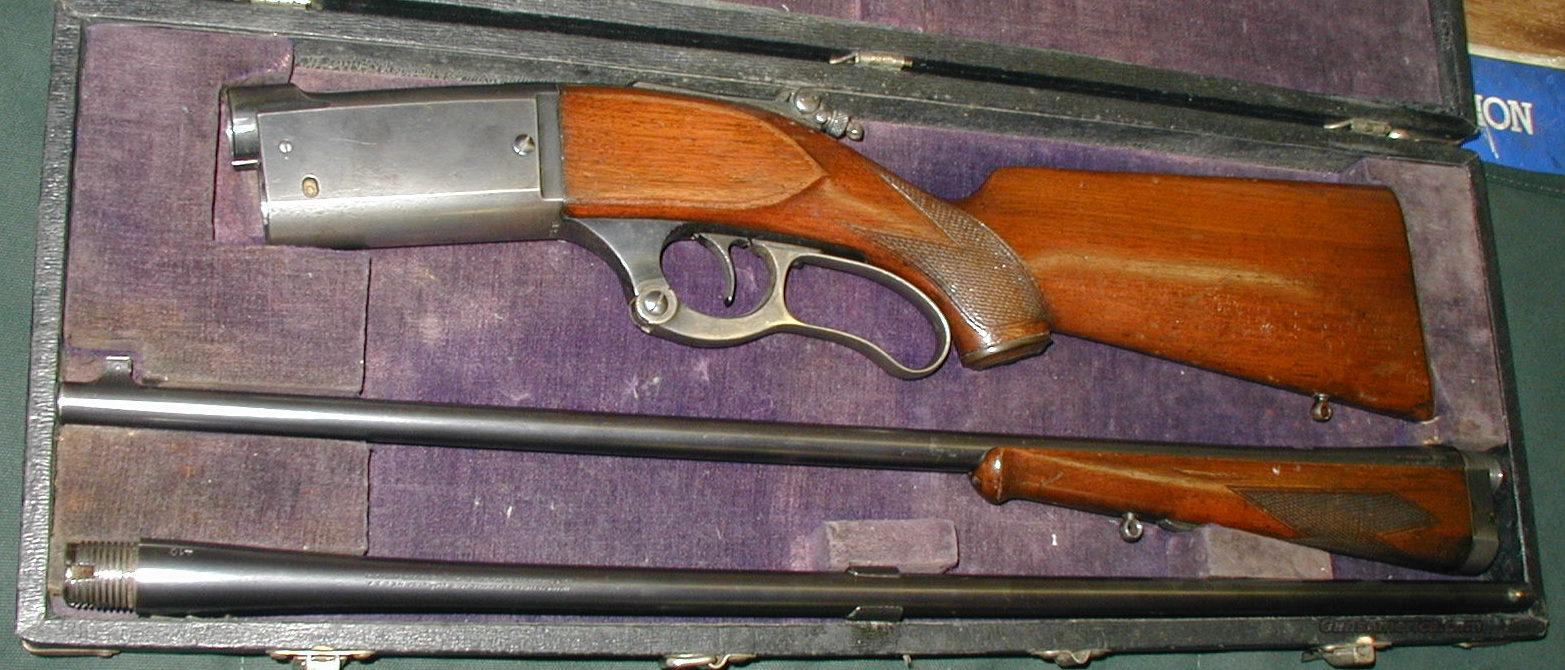 COMBINATION CASED SET  Guns > Rifles > Savage Rifles > Model 95/99 Family