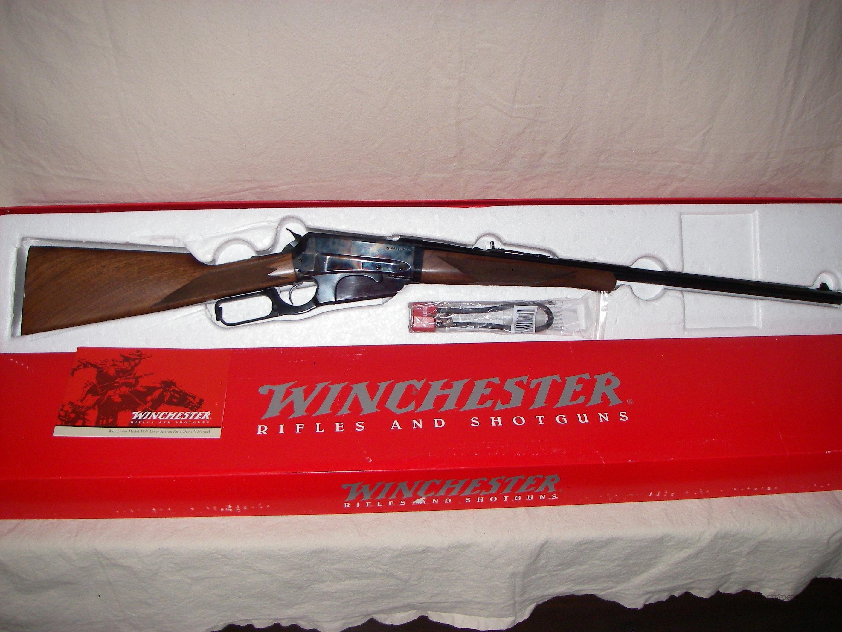 Winchester Model 1895 TD CC 30-06 Repo  Guns > Rifles > Winchester Rifles - Modern Lever > Other Lever > Post-64