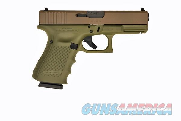 Glock 19 Gen 4 9mm Caliber Spec Edition FDE 15+1  Guns > Pistols > Glock Pistols > 19