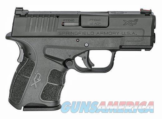 SPRINGFIELD ARMORY XD-S MOD.2 45 ACP Cal 6rds F\O Sight   Guns > Pistols > Springfield Armory Pistols > XD-Mod.2