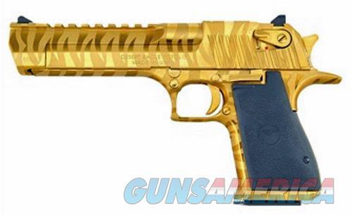 Magnum Research Desert Eagle Mk 19 Tiger Stripe Finish 44 Mag  Guns > Pistols > Magnum Research Pistols