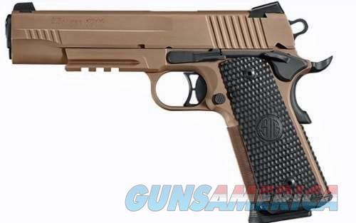 Sig Sauer Mod 1911 Scorpion N\S 45 ACP Caliber  Guns > Pistols > Sig - Sauer/Sigarms Pistols > 1911