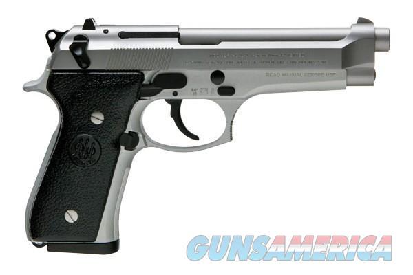 Beretta 92FS Inox Italian Mfr S\S 9mm 15rds Hi-Cap  Guns > Pistols > Beretta Pistols > Model 92 Series