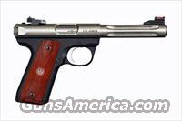 Ruger Model 22/45 S\S Hunter 22LR Cal S\A PST  Guns > Pistols > Ruger Semi-Auto Pistols > Mark I & II Family