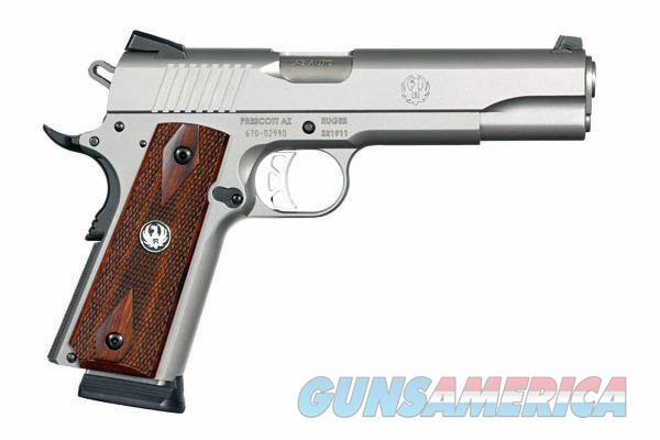 Ruger Mod SR1911 S\S Novak Sgts 45ACP 2-Mags  Guns > Pistols > Ruger Semi-Auto Pistols > 1911