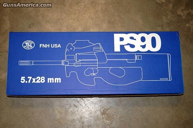 FN PS90 5.7mm in Factory Black  Guns > Rifles > FNH - Fabrique Nationale (FN) Rifles