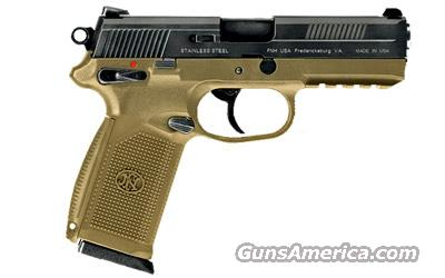 FNH Mod FNX-45 Pistol Dark Earth (3) 15rd Mags 45ACP  Guns > Pistols > FNH - Fabrique Nationale (FN) Pistols > FNP
