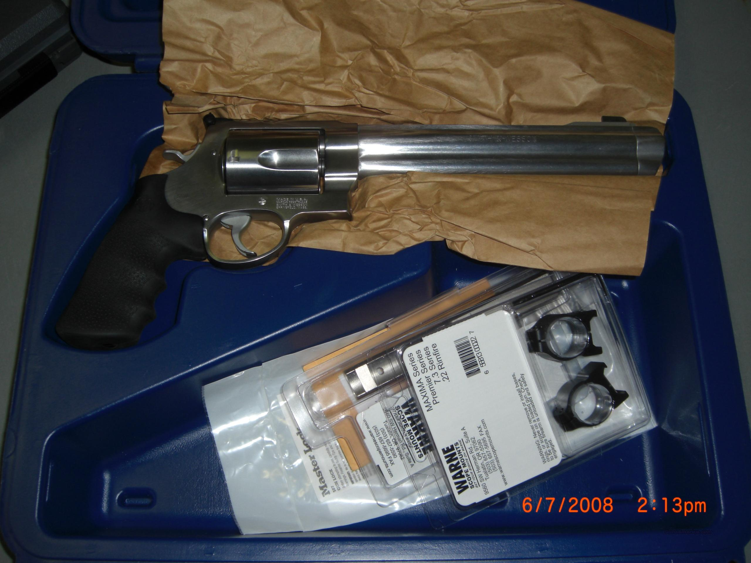 REDUCED S&W M500 500SW DA REV 8.375SS SW Product #163500  Guns > Pistols > Smith & Wesson Revolvers > Full Frame Revolver