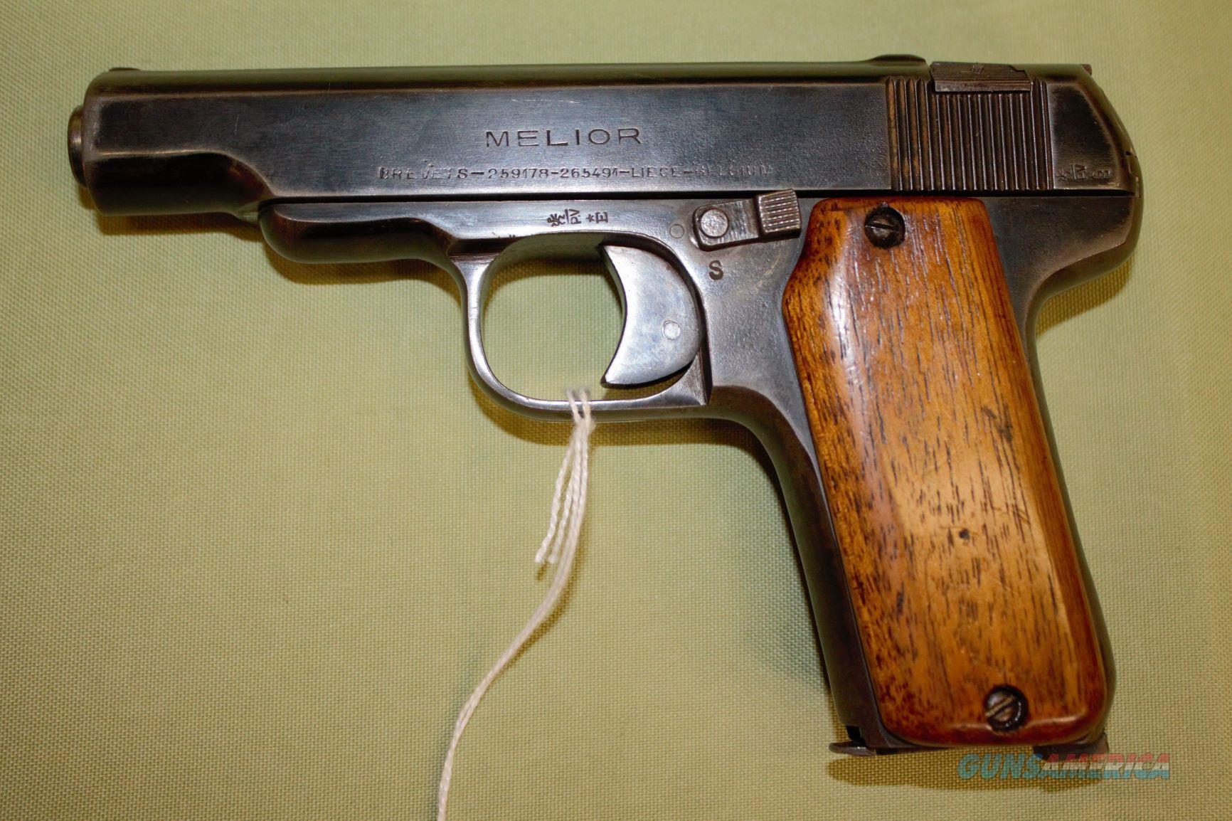 Melior Brevets 32 Auto   Guns > Pistols > MN Misc Pistols