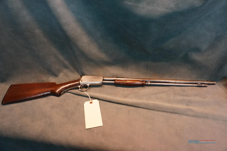 Winchester Model 06 Expert 22S-L-LR Nickel  Guns > Rifles > Winchester Rifles - Modern Pump