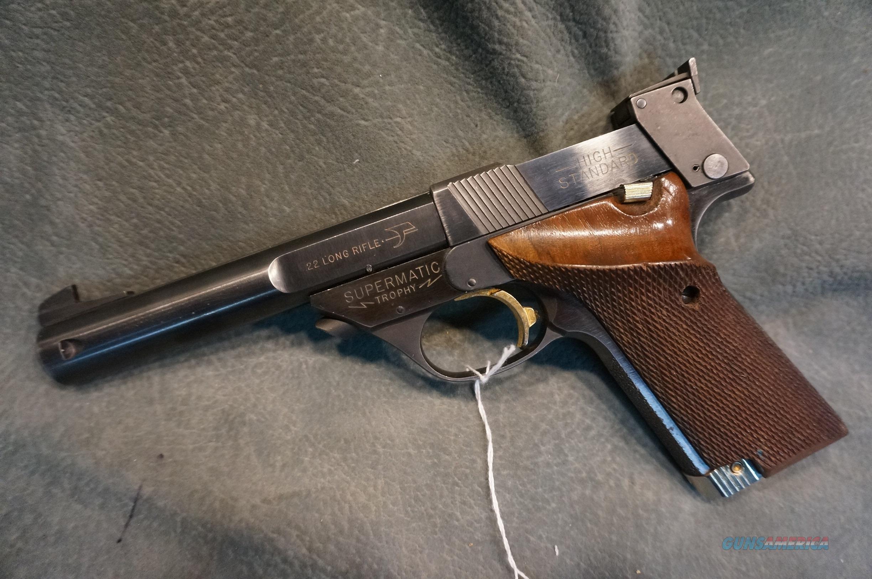 High Standard Supermatic Trophy 22LR  Guns > Pistols > High Standard Pistols