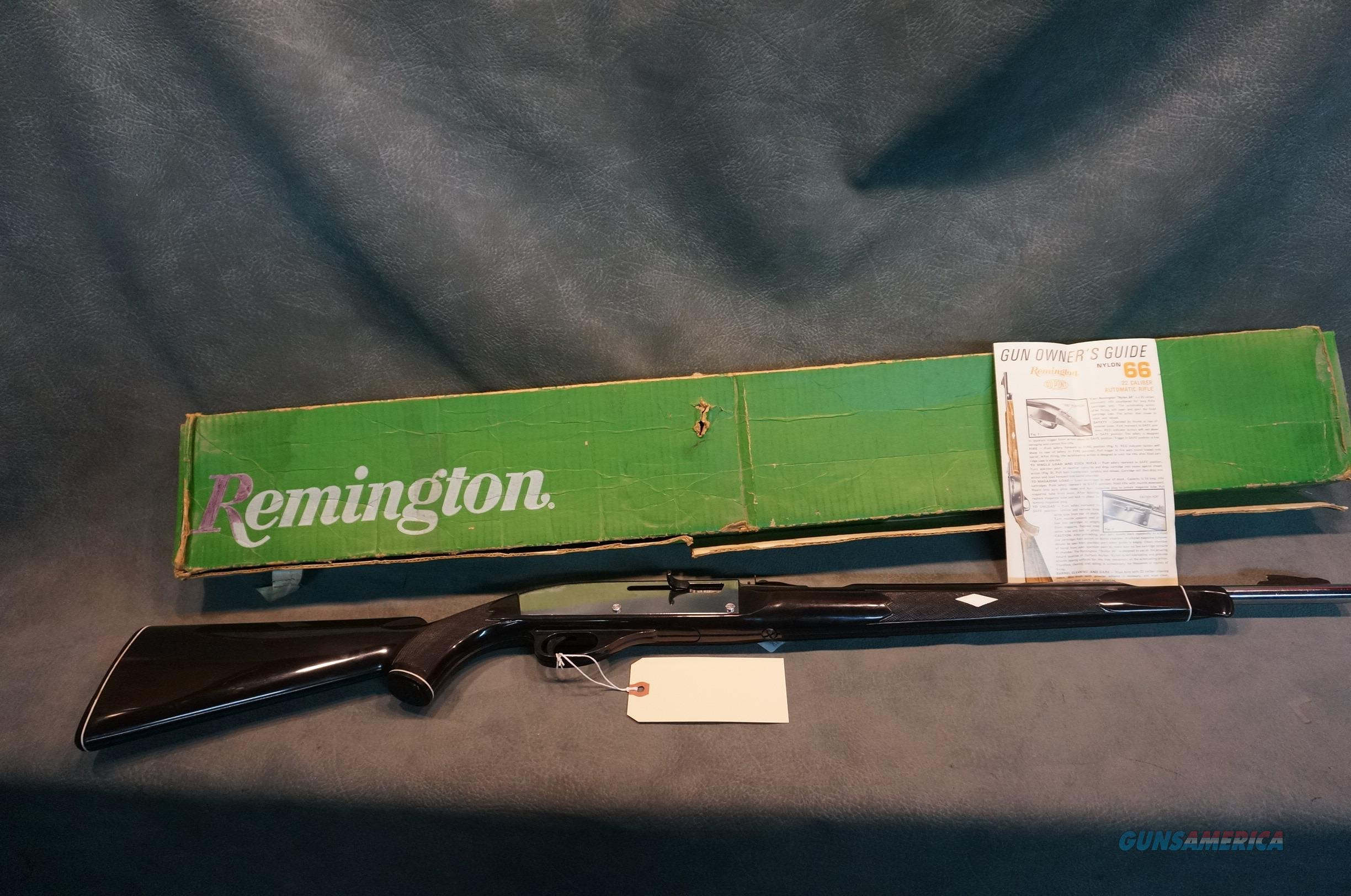 Remington Nylon 66 Apache Black Chrome w/box  Guns > Rifles > Remington Rifles - Modern > .22 Rimfire Models