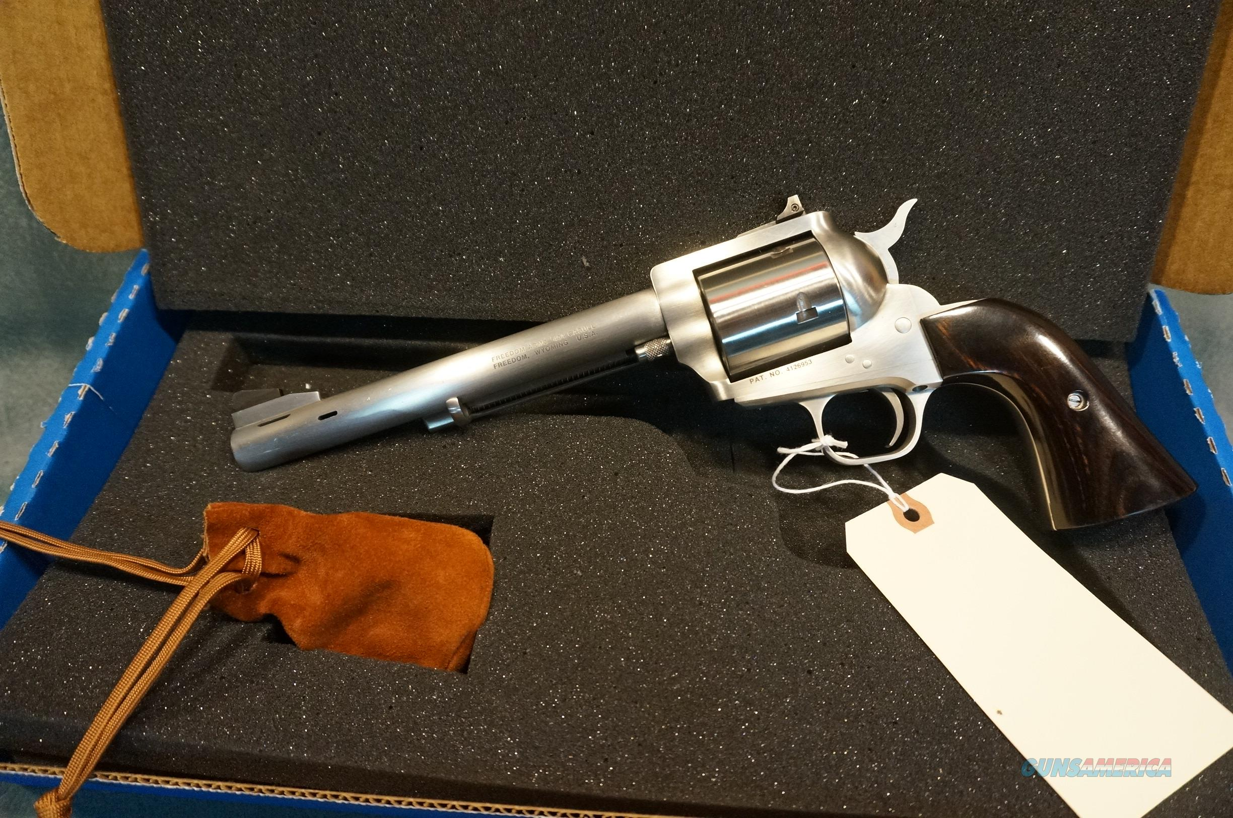 Freedom Arms M83 Premier Grade 454Casull with 45LC cylinder  Guns > Pistols > Freedom Arms Pistols