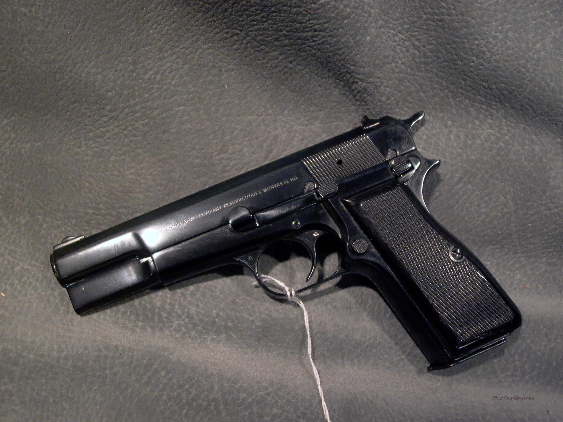 Browning Hi Power 30 Luger  Guns > Pistols > Browning Pistols > Hi Power
