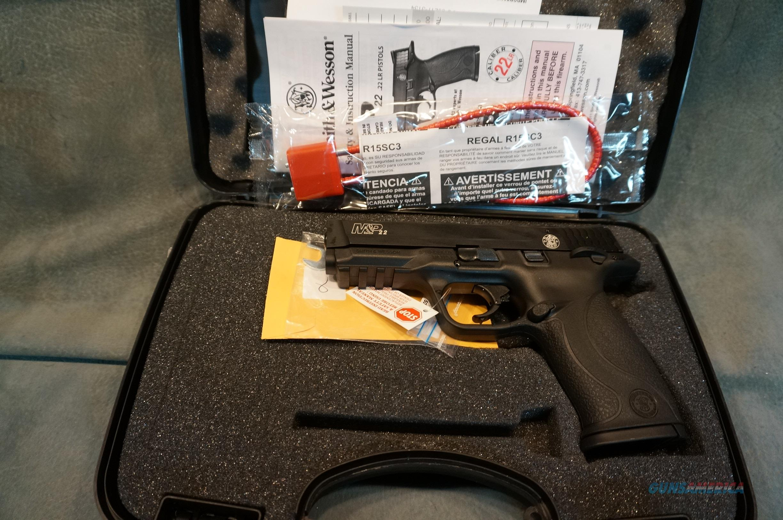 "S+W M+P 22LR 4.1"" Semi Auto NIB  Guns > Pistols > Smith & Wesson Pistols - Autos > .22 Autos"