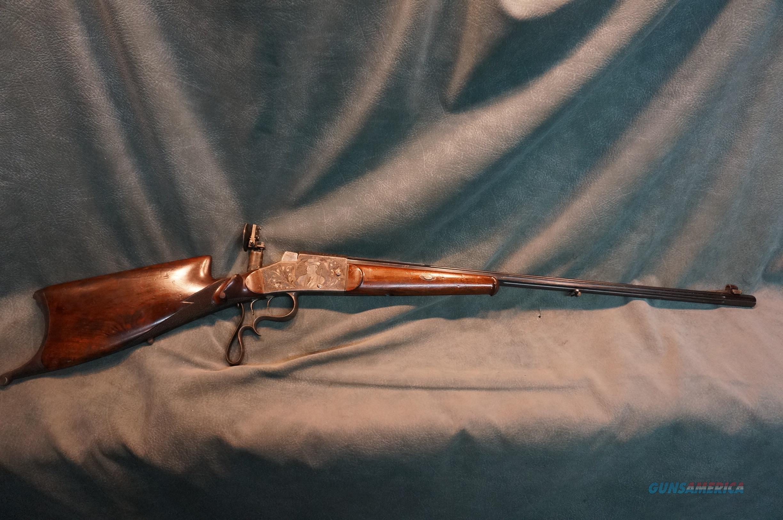 Outstanding Haenel Original Schuetzen Rifle  Guns > Rifles > Antique (Pre-1899) Rifles - Ctg. Misc.