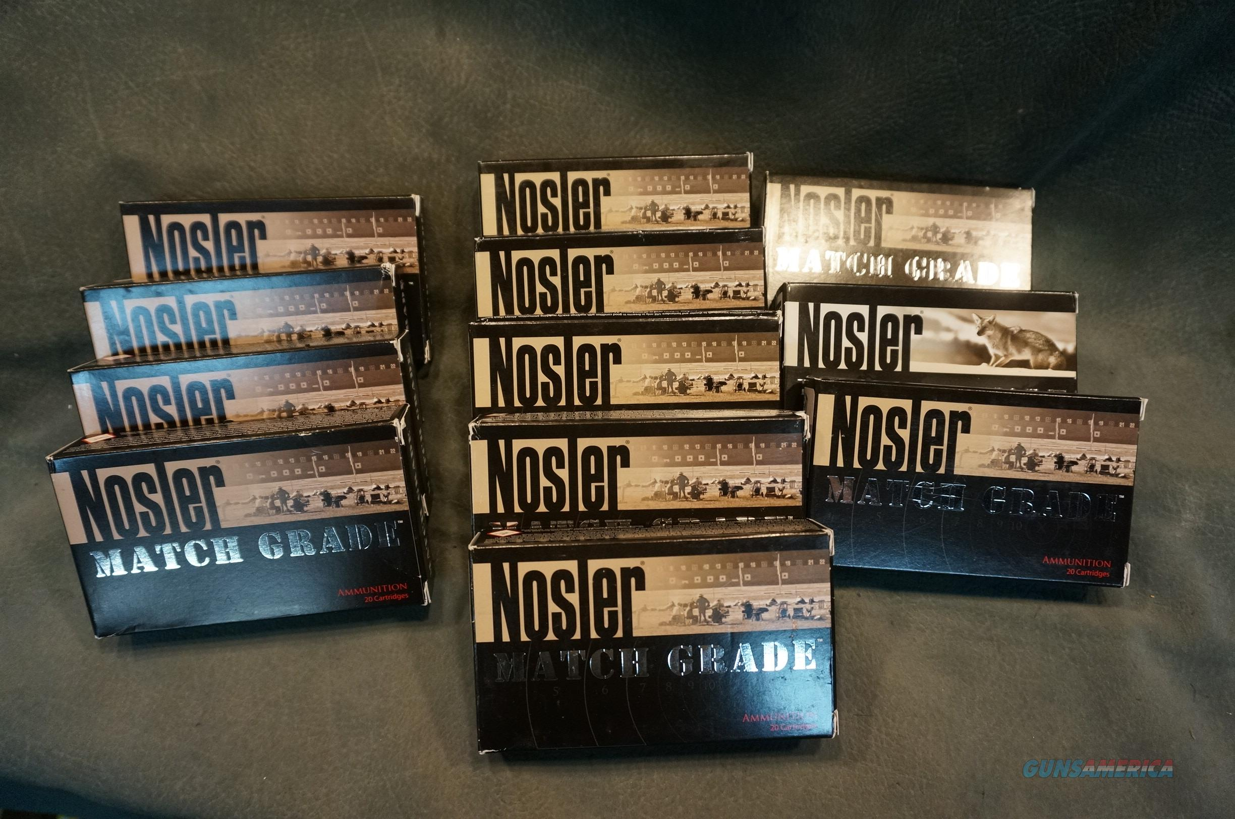Nosler 22Nosler ammunition  Non-Guns > Ammunition