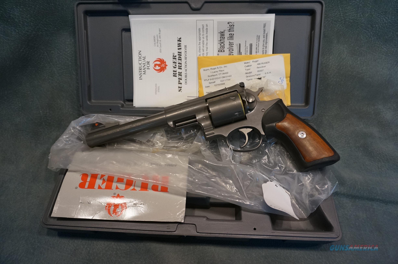 """Ruger Super Redhawk 480 Ruger 7 1/2"""" bbl NIB  Guns > Pistols > Ruger Double Action Revolver > Redhawk Type"""