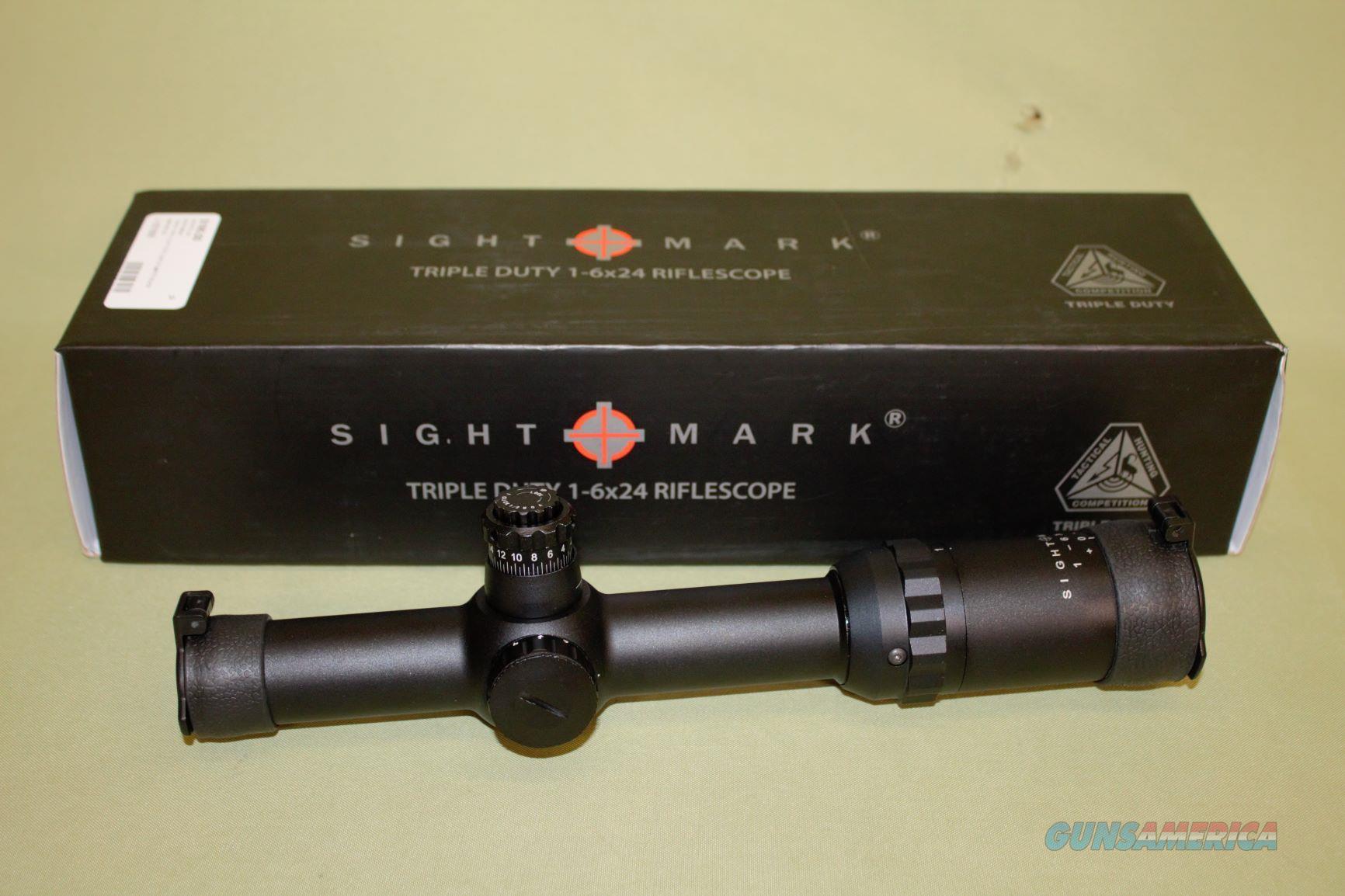 Sightmark 1-6x24 Triple Duty NIB  Non-Guns > Scopes/Mounts/Rings & Optics > Tactical Scopes > Variable Recticle