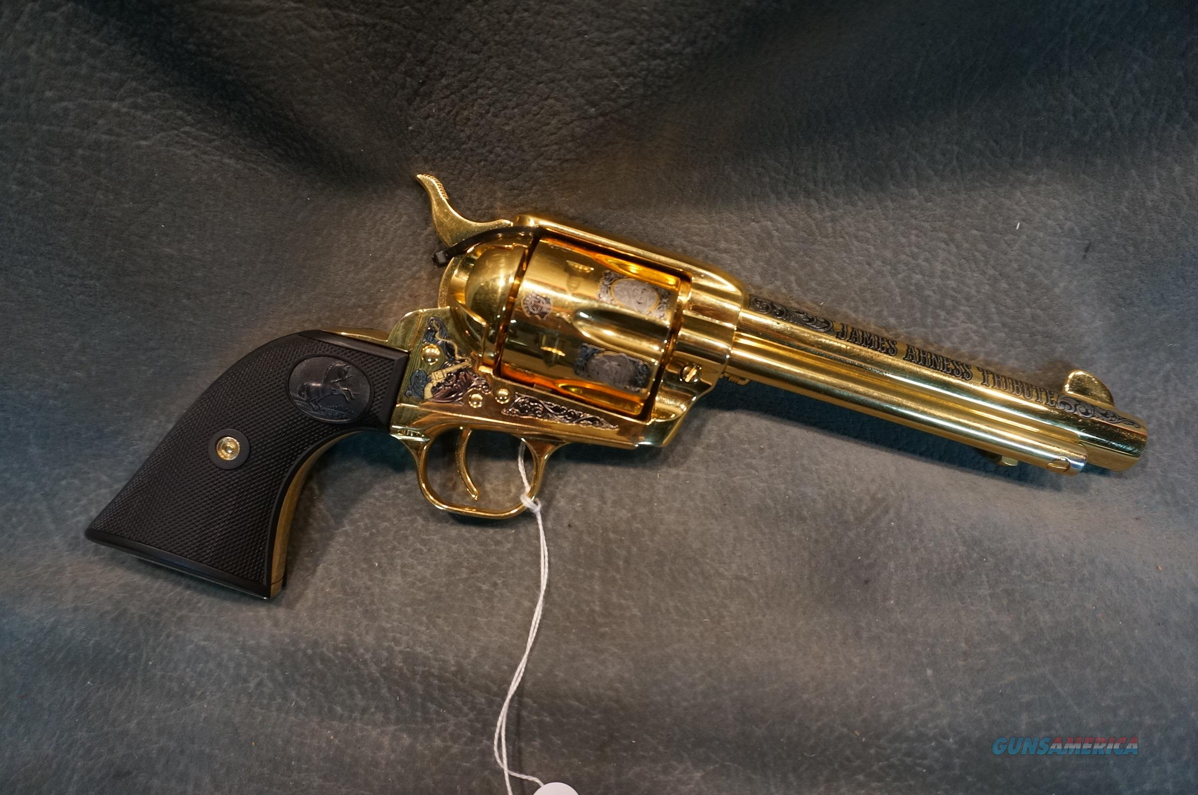 James Arness Tribute Colt 45LC Gunsmoke Matt Dillon  Guns > Pistols > Colt Commemorative Pistols