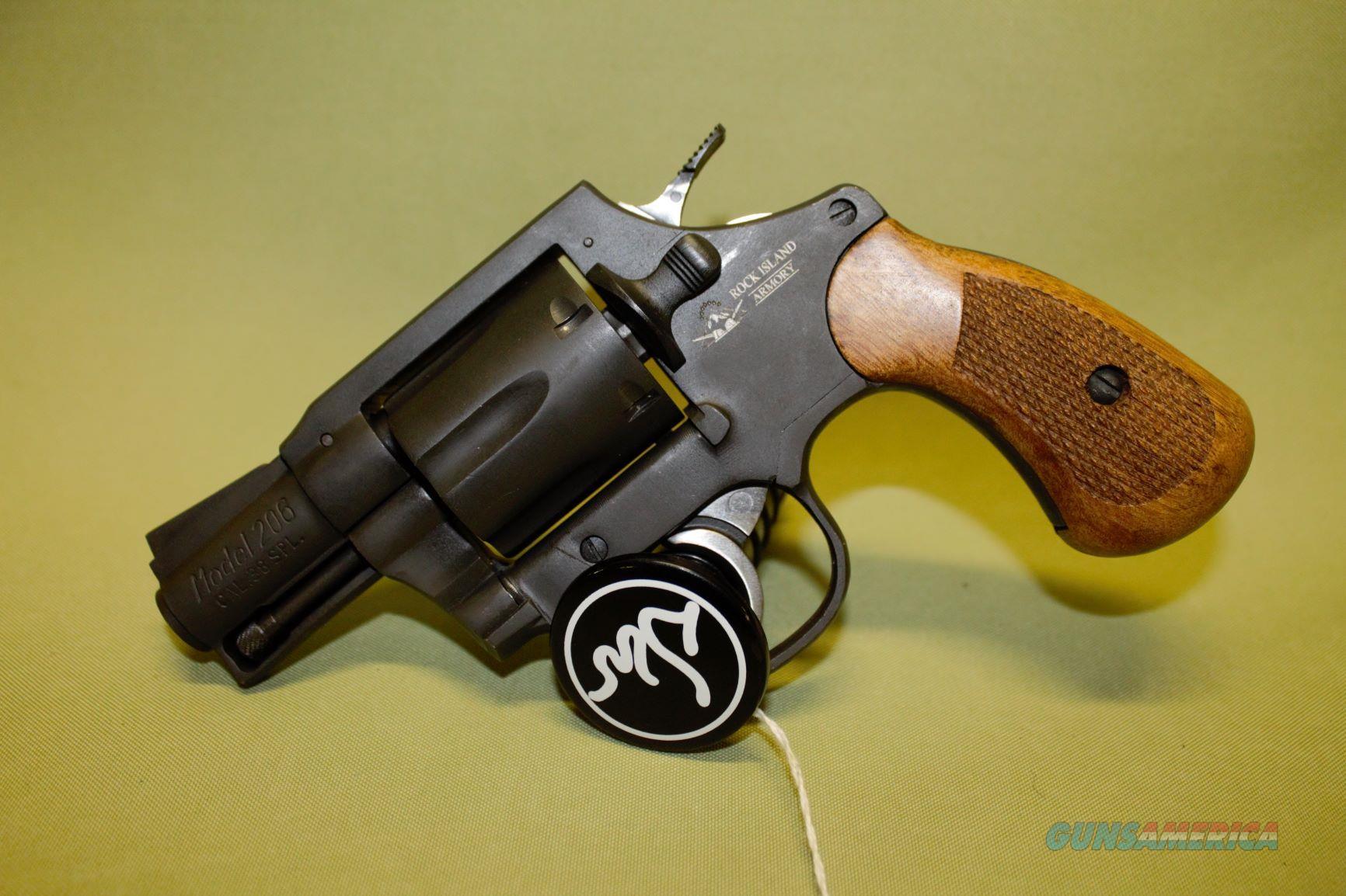 Rock Island Armory M206 38 SPL  Guns > Pistols > Rock Island Armory Pistols > Rock Island