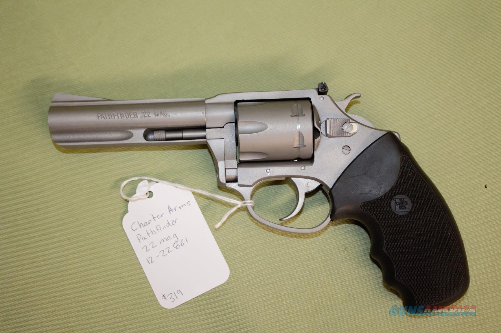 Charter Arms Pathfinder 22 Magnum  Guns > Pistols > Charter Arms Revolvers