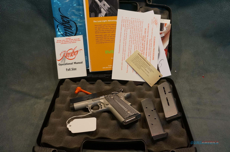 "Kimber Ultra Carry II 45ACP 3"" barrel with 3 magazines  Guns > Pistols > Kimber of America Pistols > 1911"