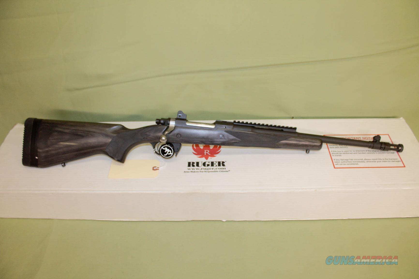 Ruger Gunsite Scout 5.56  Guns > Rifles > Ruger Rifles > Gunsite